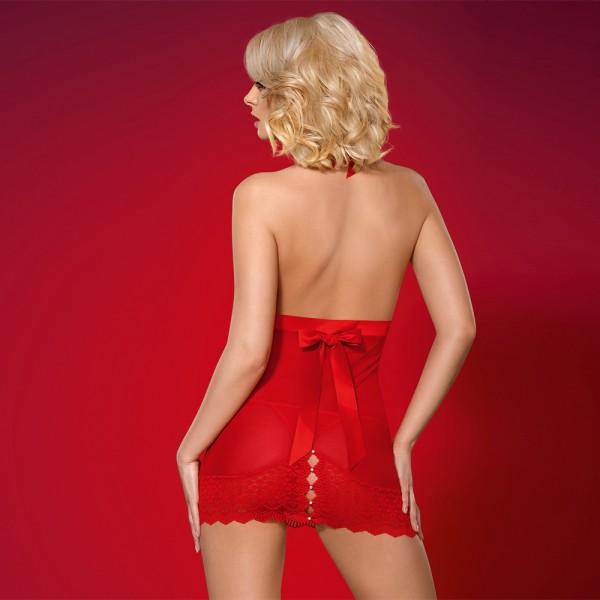 falda con tanga: